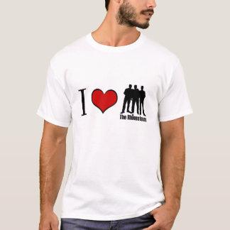 """""""ICH LIEBE die RHINESTONES"""" weißes T-Stück T-Shirt"""