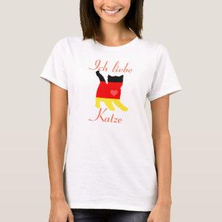 Ich Liebe Katze Shirt