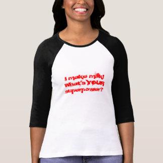 Ich mache Milch! Was ist IHRE Supermacht? T-Shirt