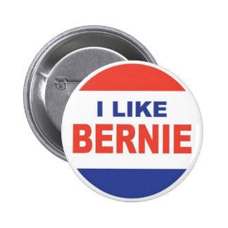 Ich mag Bernie Runder Button 5,7 Cm