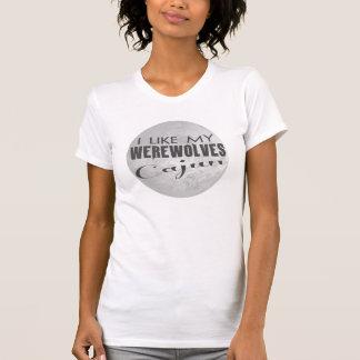 Ich mag meine Werewolves Cajun T-Shirt