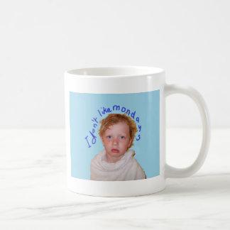 Ich mag nicht Montage Tasse