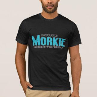 Ich rettete einen Morkie (weiblichen) T-Shirt