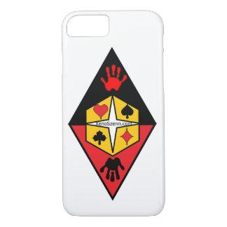 Ich rufe Fall 6 mit Logo an iPhone 8/7 Hülle