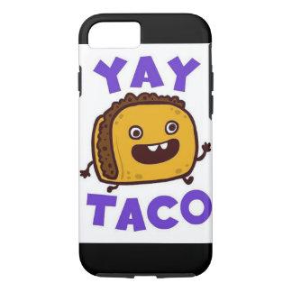 Ich rufe Fall 6s Tacos Yay an iPhone 8/7 Hülle