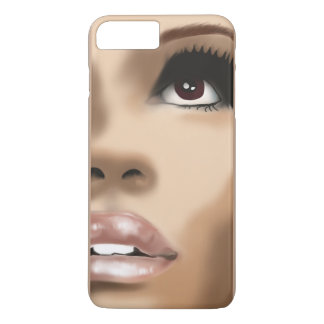 Ich rufe Fall, Gesicht an, iPhone 8 Plus/7 Plus Hülle