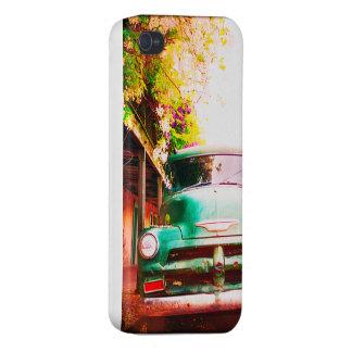 ich rufe Vintagen LKW 4 und Farben an iPhone 4 Schutzhülle