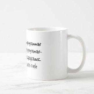 Ich schreibe Code Tasse