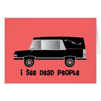 """Ich sehe tote Leute-"" Karte"