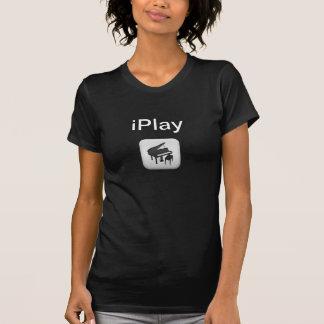 Ich spiele Klavier-Ikonen-iPlay T - Shirt
