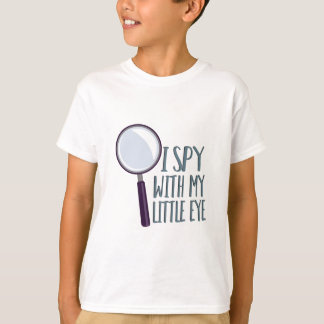 Ich spioniere aus T-Shirt