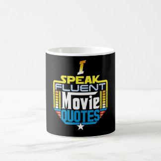 Ich spreche fließende Film-Zitat-Tasse Tasse