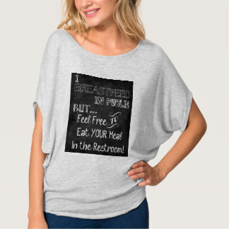 Ich stille öffentlich… T-Shirt