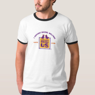 """""""Ich stütze der Wecker der Tierschutz-"""" Männer T-Shirt"""