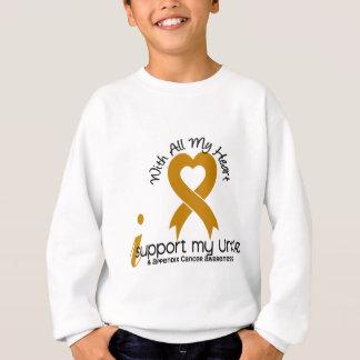 Ich stütze meinen Onkel Appendix Cancer Sweatshirt