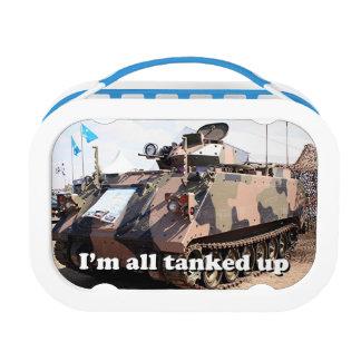 Ich tanked ganz herauf: Militärbehälter Brotdose