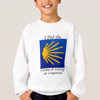 Ich tat das Camino De Santiago Sweatshirt