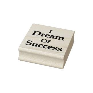 Ich träume vom Erfolg Gummistempel
