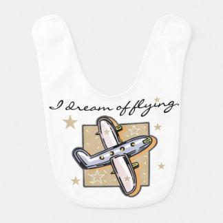 Ich träume vom Fliegen-Flugzeug-Schellfisch Lätzchen
