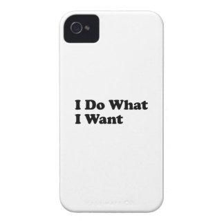 Ich tue, was ich will iPhone 4 Case-Mate hülle