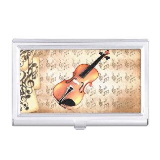 Ich u. mein Violin_ Visitenkarten Dose