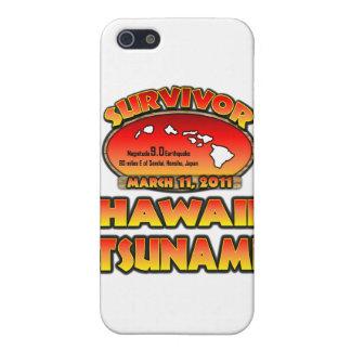 Ich überlebte den Hawaii-Tsunami am 3. März 2011 iPhone 5 Etui