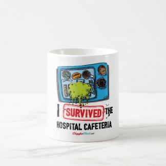 Ich überlebte die Krankenhaus-Cafeteria Kaffeetasse