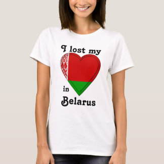 Ich verlor mein Herz in Weißrussland T-Shirt