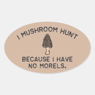 Ich vermehre mich Jagd explosionsartig, weil ich Ovaler Aufkleber