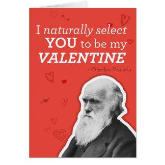 Ich wähle Sie natürlich vor, mein Valentinsgruß zu Karte