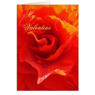 Ich werde Liebe Sie bis… Valentinsgruß-Belegkarte Karte