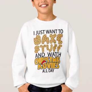 ich will gerade, um Material- und Sweatshirt