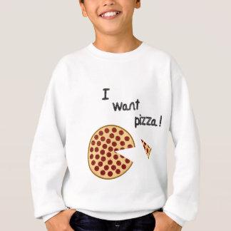 Ich will Pizza Sweatshirt