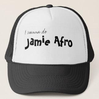 Ich will, um zu tun, JamieAfro Truckerkappe