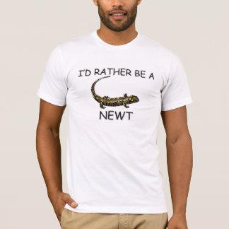Ich würde eher ein Newt sein T-Shirt