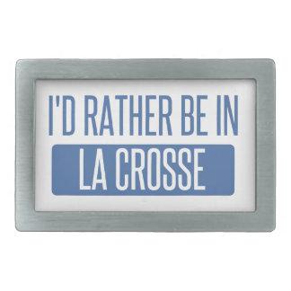 Ich würde eher im La Crosse sein Rechteckige Gürtelschnalle