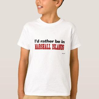 Ich würde eher in den Marshallinseln sein T-Shirt