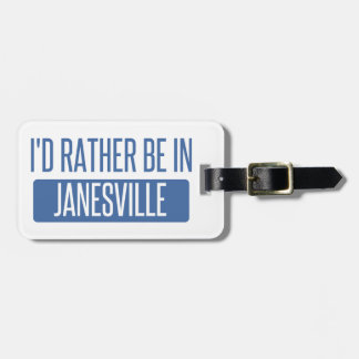 Ich würde eher in Janesville sein Kofferanhänger