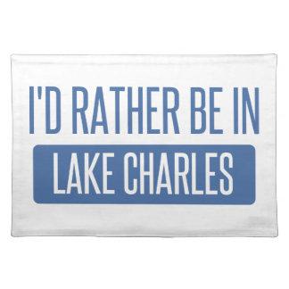 Ich würde eher in Lake Charles sein Tischset