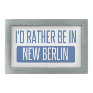 Ich würde eher in neuem Berlin sein Rechteckige Gürtelschnalle