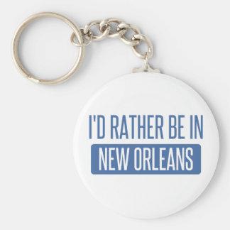 Ich würde eher in New Orleans sein Schlüsselanhänger