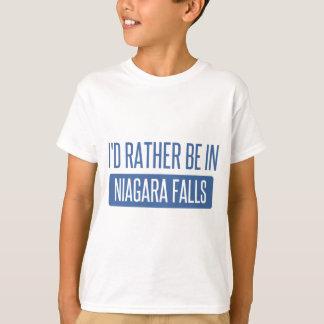 Ich würde eher in Niagara Falls sein T-Shirt