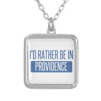 Ich würde eher in Providence sein Versilberte Kette
