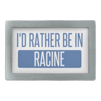 Ich würde eher in Racine sein Rechteckige Gürtelschnalle