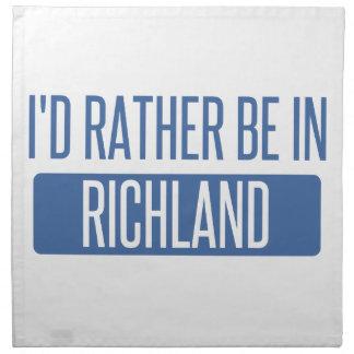 Ich würde eher in Richmond CA sein Stoffserviette