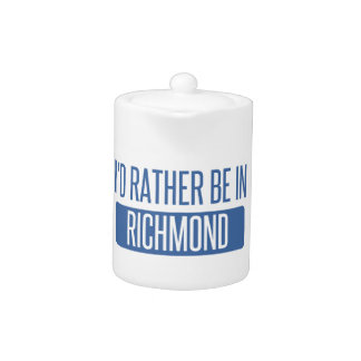 Ich würde eher in Richmond VA sein