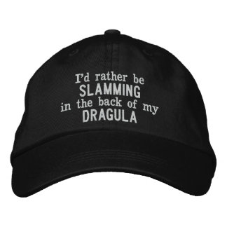 Ich würde vielmehr auf der Rückseite meines Bestickte Kappe