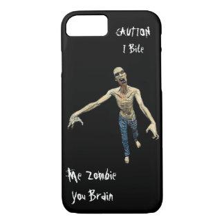 Ich Zombie - Sie Gehirn für Männer und Jungen iPhone 8/7 Hülle