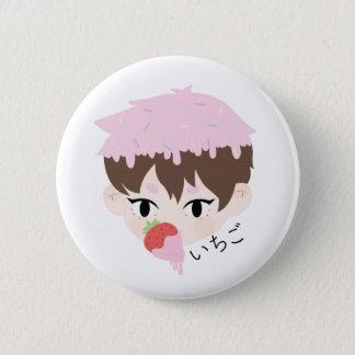 Ichigo Junge Runder Button 5,7 Cm