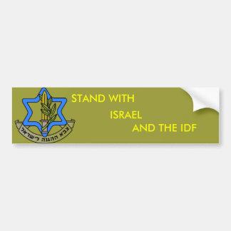 IDF AUTOAUFKLEBER